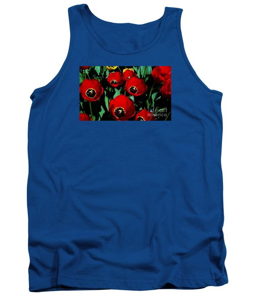 Tank Top featuring the photograph Tulips by Vanessa Palomino
