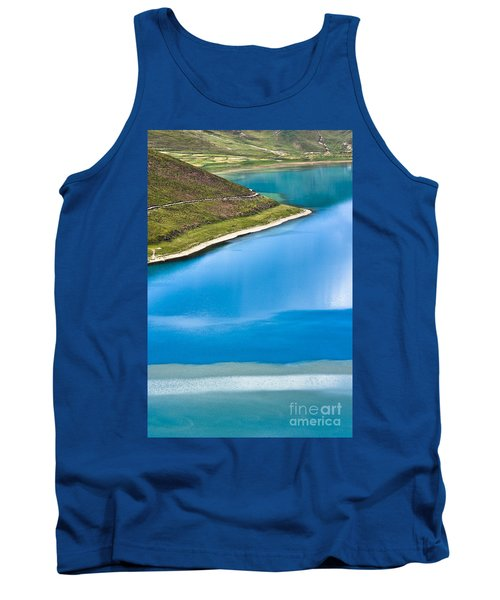Turquoise Water Tank Top