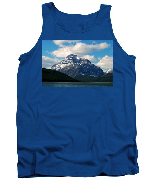Two Medicine Lake And Rising Wolf Mountain Tank Top