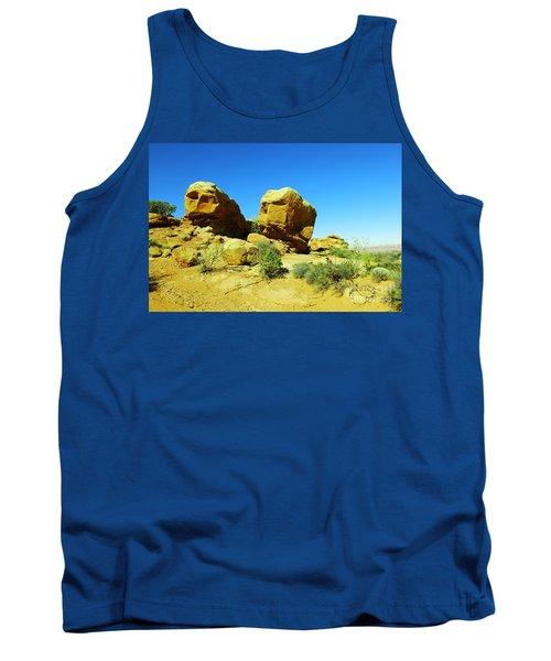 Two Orange Rocks Tank Top