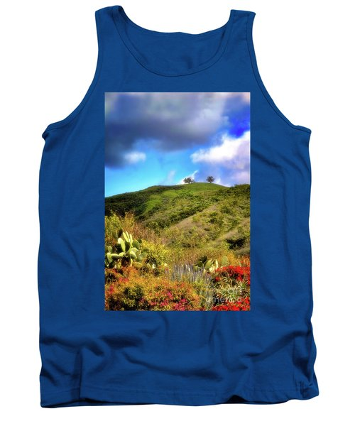 Two Trees In Spring Tank Top