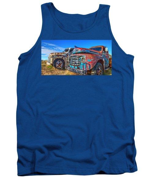 Two Trucks Tank Top