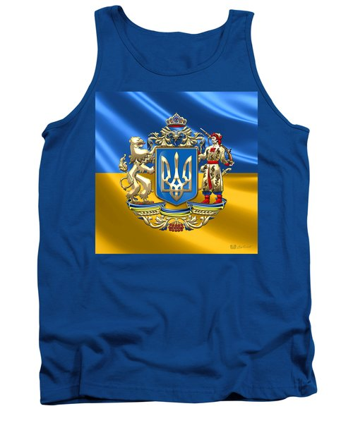 Ukraine - Greater Coat Of Arms  Tank Top