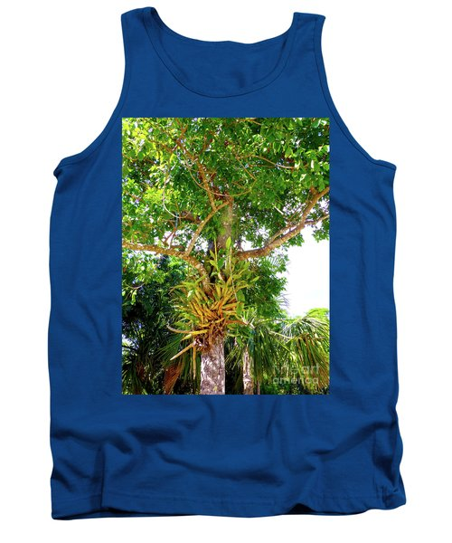 Tank Top featuring the photograph Under A Tropical Tree M by Francesca Mackenney