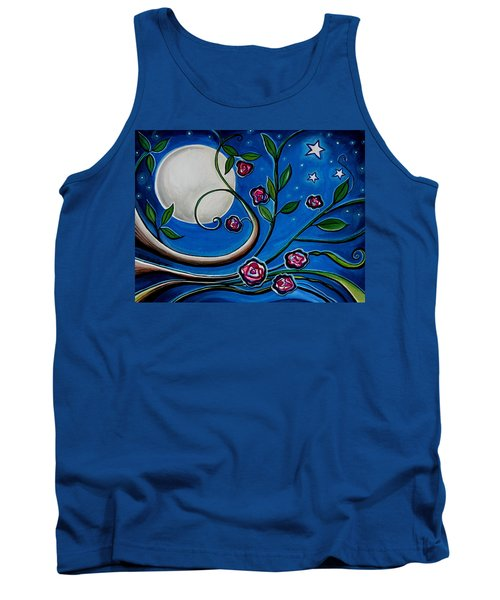 Under The Glowing Moon Tank Top