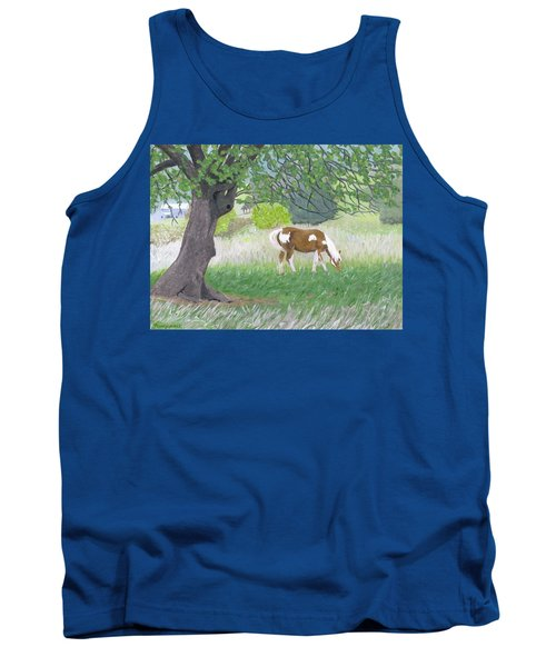 Under The Old Apple Tree Tank Top