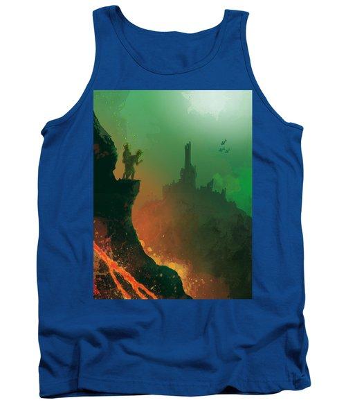 Undersea Volcano Tank Top