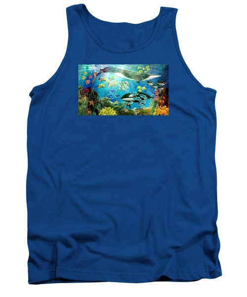 Underwater Magic Tank Top