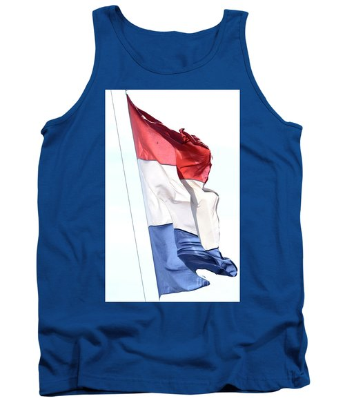 Tank Top featuring the photograph Unfurl 02 by Stephen Mitchell