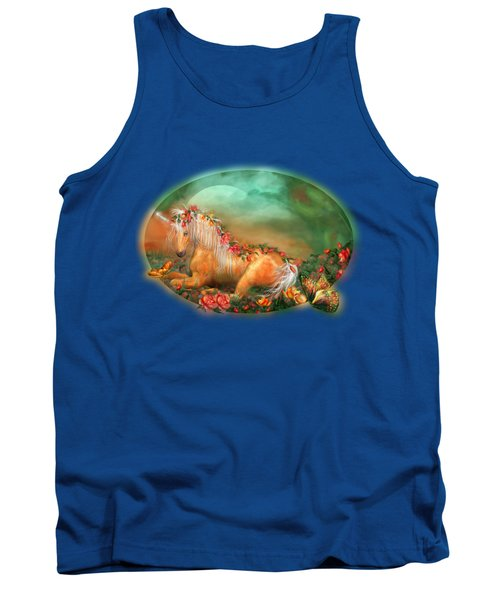 Unicorn Of The Roses Tank Top