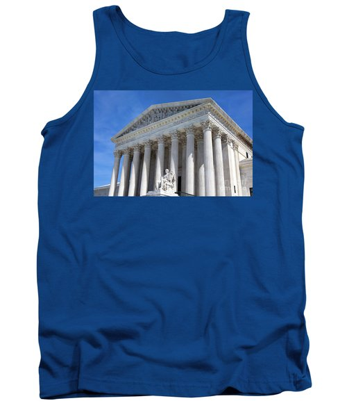 United States Supreme Court Building Tank Top