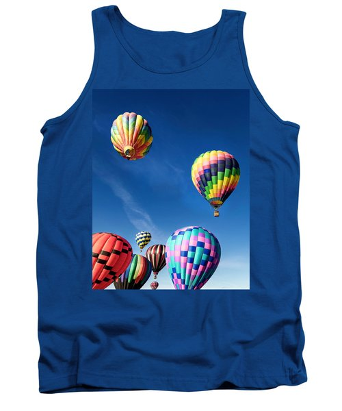 Up In A Hot Air Balloon 2 Tank Top