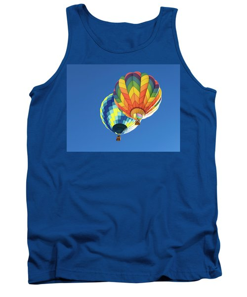 Up In A Hot Air Balloon Tank Top
