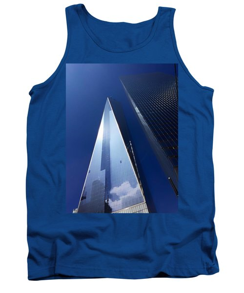 Up In New York Tank Top by Paul Wilford