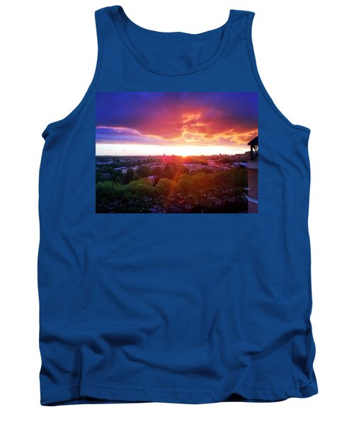 Urban Sunset Tank Top