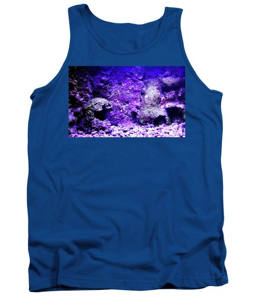 Tank Top featuring the photograph Uw Coral Stone 2 by Francesca Mackenney