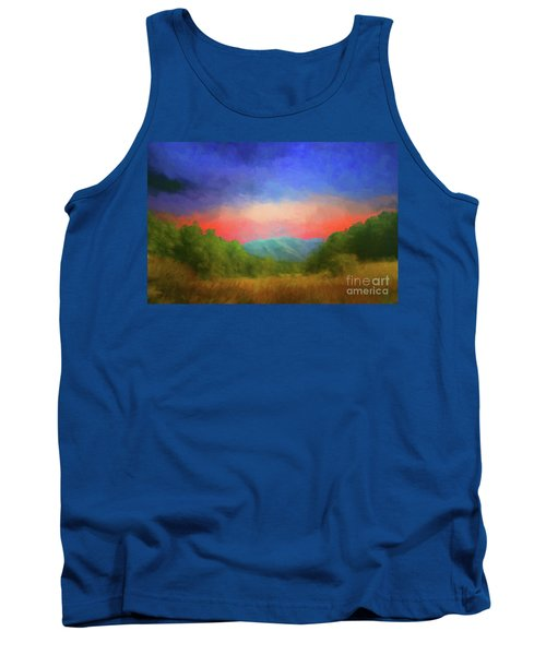 Valley In The Cove Tank Top by Geraldine DeBoer