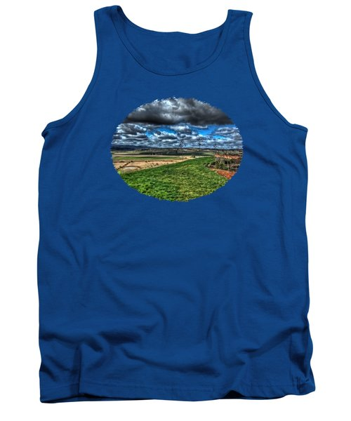 View From The Van Duzer Vineyards  Tank Top