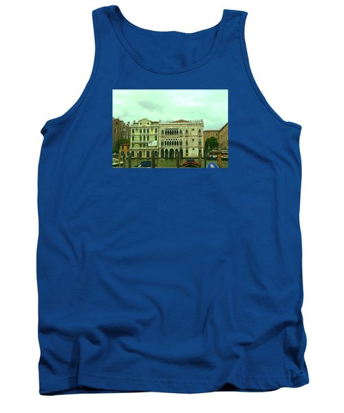Tank Top featuring the photograph Venetian Aternoon by Anne Kotan