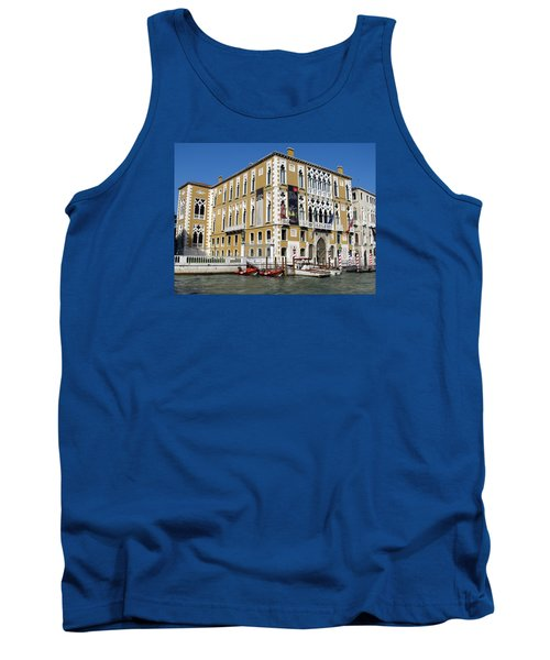 Venice Canal Building Tank Top by Lisa Boyd
