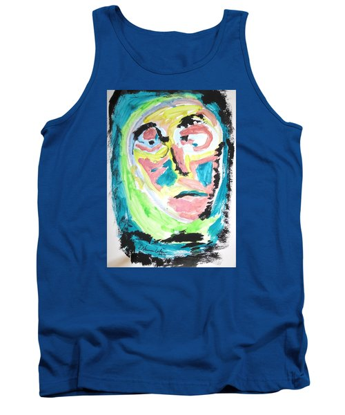 Tank Top featuring the painting Verging On Morbidity by Esther Newman-Cohen
