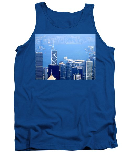 Tank Top featuring the photograph Victoria Peak 2 by Randall Weidner
