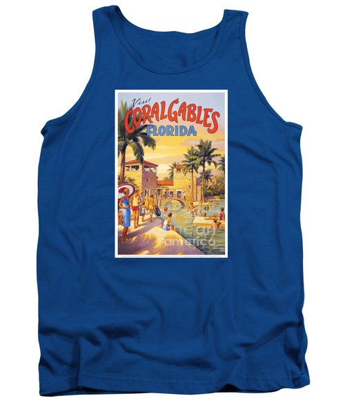 Visit Coral Gables-florida Tank Top