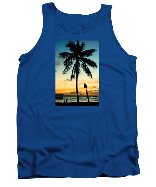 Waikiki Sunset Tank Top