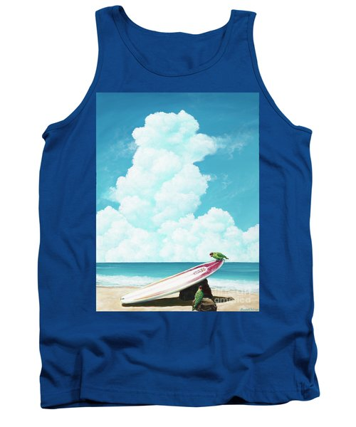 Waiting For Surf Tank Top