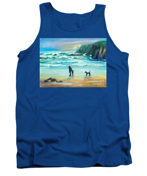 Walking With Grandpa - Painting Tank Top
