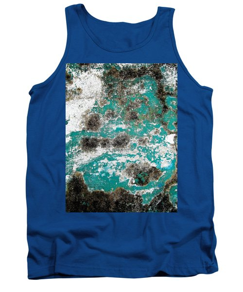 Tank Top featuring the photograph Wall Abstract 171 by Maria Huntley