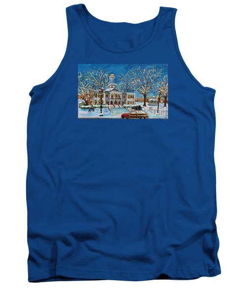 Waltham Common Shimmering Tank Top by Rita Brown