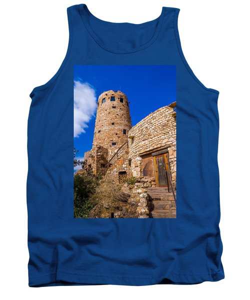 Tank Top featuring the photograph Watch Tower by Jerry Cahill