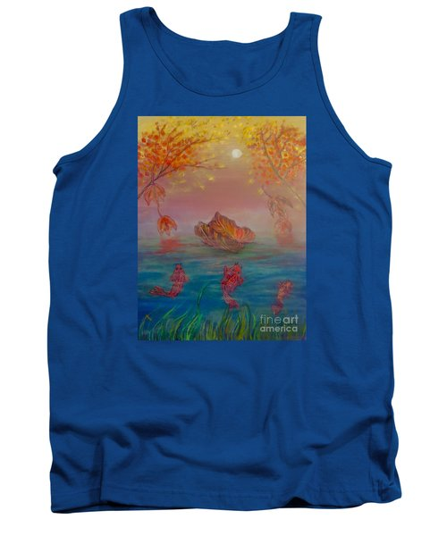 Watching The Dance Of The Fallen Elements Tank Top