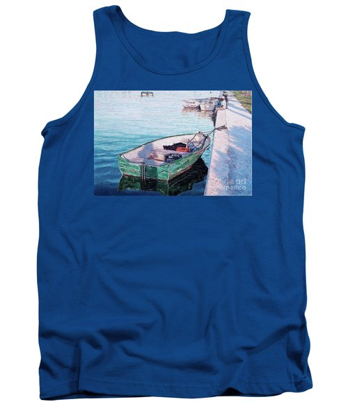 Watching The Tide Tank Top