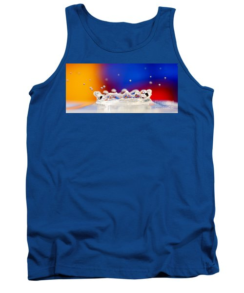Tank Top featuring the photograph Water Drop by Colin Rayner