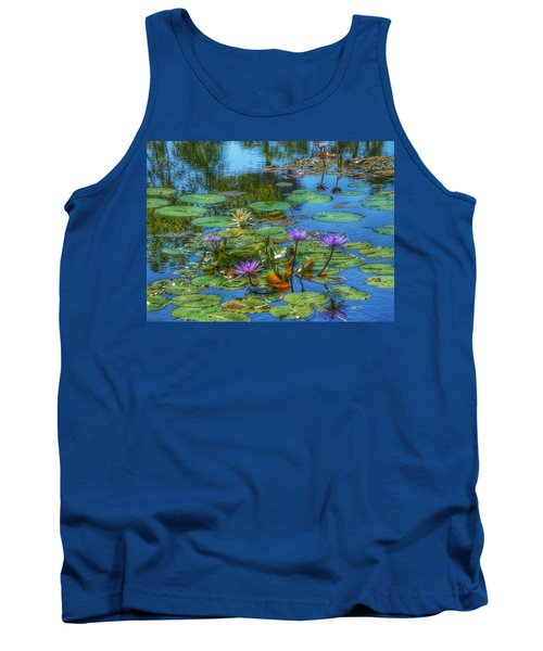 Water Lilies I Tank Top