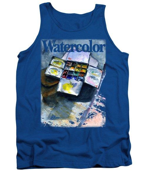 Watercolor Pallet Shirt Tank Top