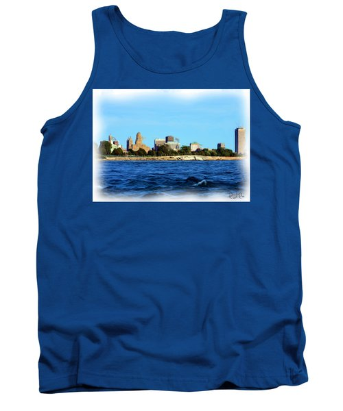 Waterfront Decay Four Tank Top
