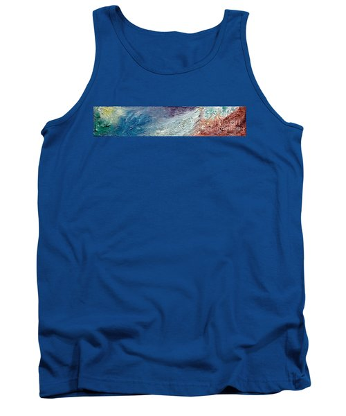 Waves Of Color Tank Top by Gallery Messina