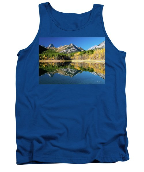 Wedge Pond Color Tank Top