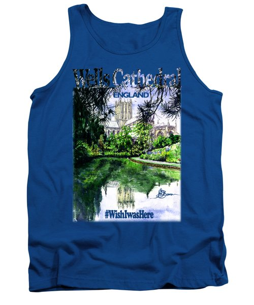 Wells Cathedral Shirt Tank Top