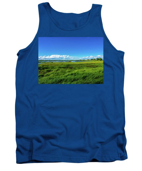 Wetlands On A Windy Spring Day Tank Top