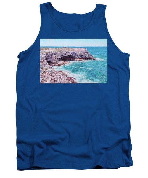 Whale Point Cliffs Tank Top