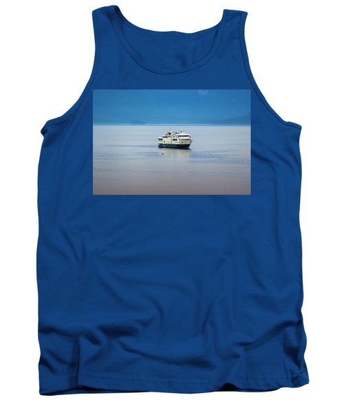 Whale Watching In Glacier Bay Tank Top