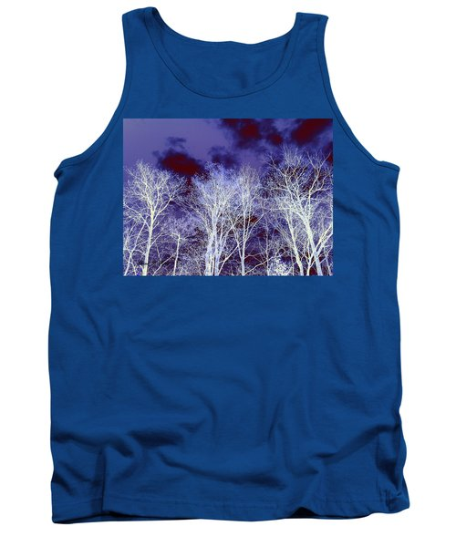 Tank Top featuring the photograph What Lies Above by Shana Rowe Jackson