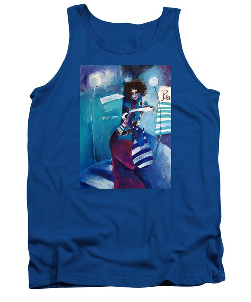 What Time Is It Tank Top by Maya Manolova