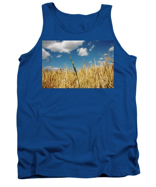 Tank Top featuring the photograph Wheat On The Rhine by KG Thienemann