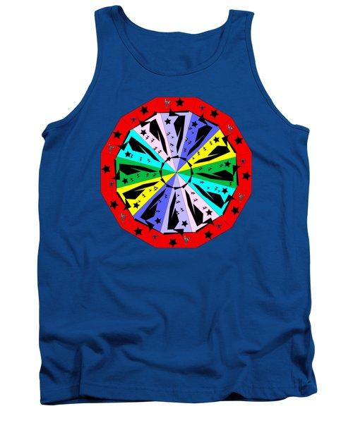 Wheel Of Color Tank Top