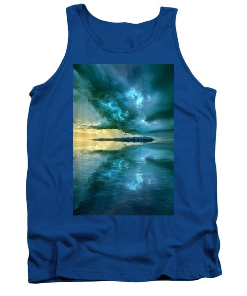 Where The Clock Stops Spinning Tank Top